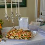 Elegant Wedding with our Vegetable Canapes